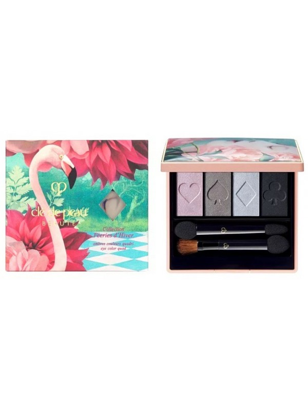 Cle De Peau Limited edition OMBRES COULEURS QUADRI限量眼影盘