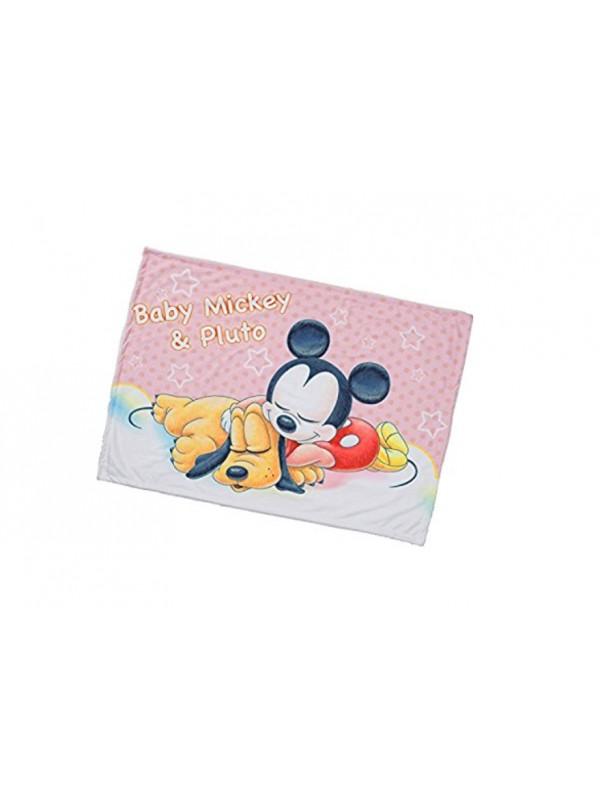 Mickey&Pluto Blanket 米奇珊瑚绒毯子