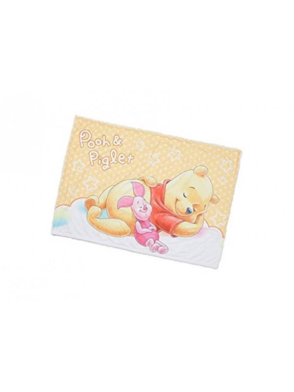 Pooh&Piglet Blanket 小熊维尼珊瑚绒毯子 70x100cm