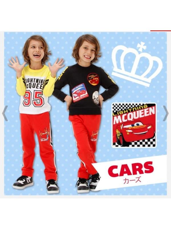 Cars 汽车总动员儿童睡衣/家居服套装 三件套 Size 80 130
