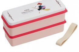 Kiki's Delivery Service Pink 魔女宅急便单双层两用便当盒 粉色(带餐具)