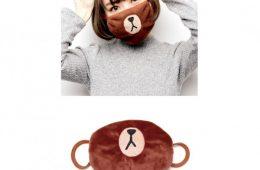 Line Fiends Brown Mask布朗熊口罩