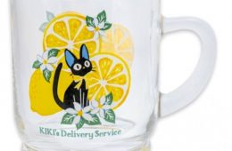 Kiki's Delivery Service glass with hand