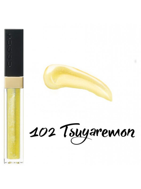 SUQQU Flawless Lip Gloss 102 TSUYAREMON 晶彩艳色唇膏 102 艳柠檬